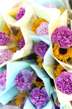 お花の寄付