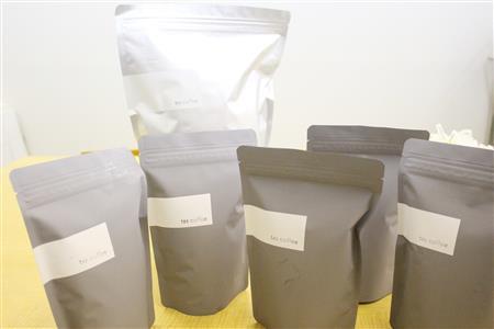 コーヒー豆の寄付