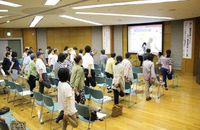 矢津田理学療法士の講演