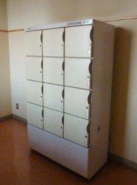 ロッカー式冷蔵庫
