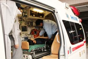 救急車搭乗研修